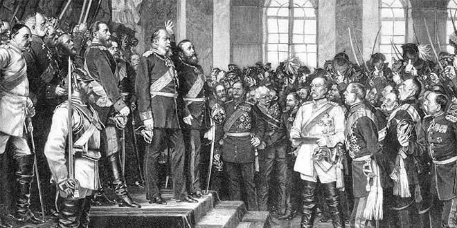 1871 proclamacion imperio aleman