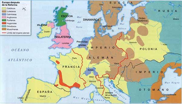 Europa-depues-de-la-Reforma-protestante