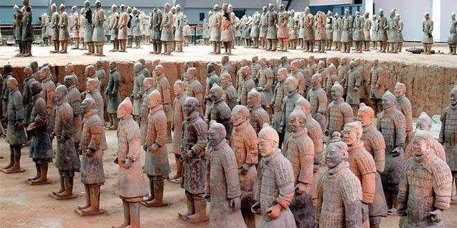 Guerreros dinastia tsin emperador che