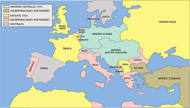 Primera Guerra Mundial Historia Universal