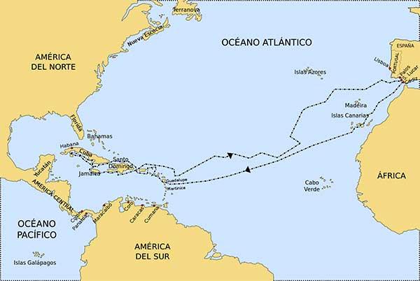 Segundo viaje de Colón