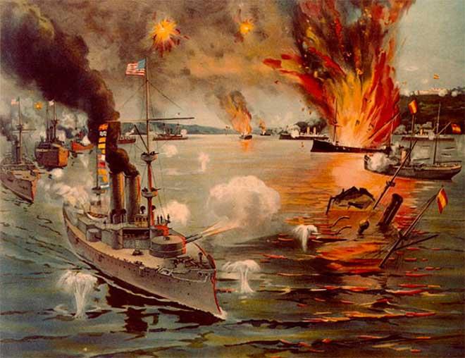 USS Olympia guerra eeuu espana