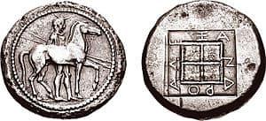 Tetradracama de Alejandro I
