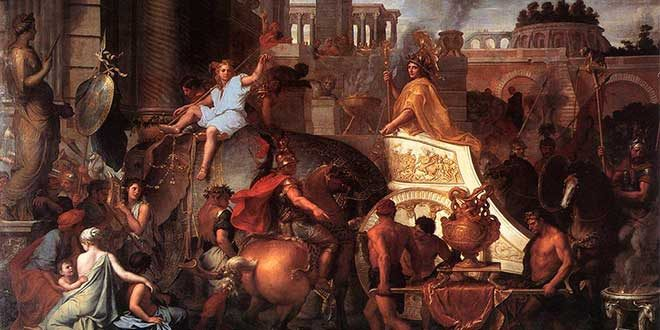 alejandro ingresa babilonia