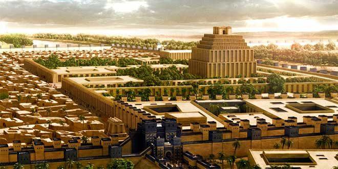 antigua ciudad babilonia