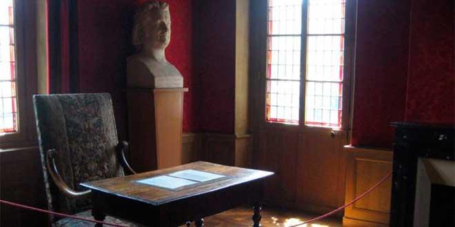 Escritorio de Balzac