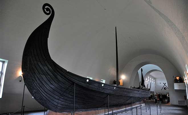 Drakkars: Barco vikingo