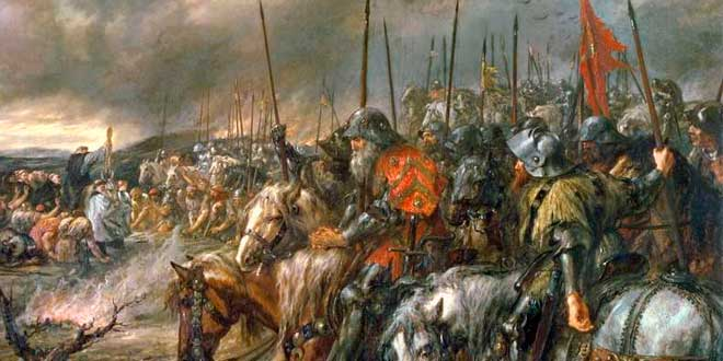 Photo of La batalla de Agincourt