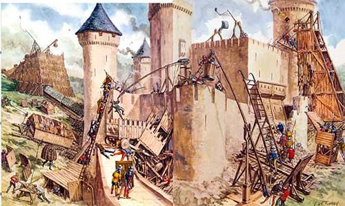 batalla castillo