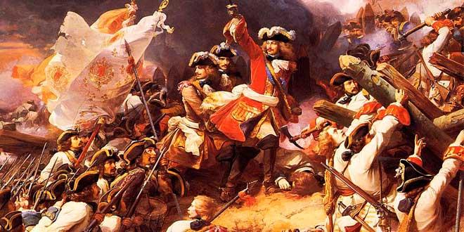 Guerra de sucesión: Batalla de Denian