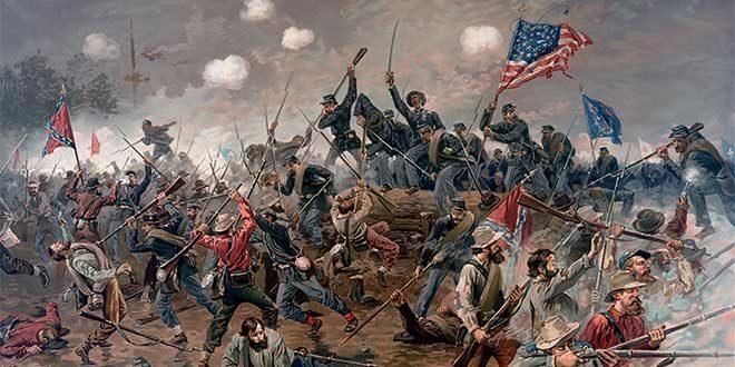 batalla de spottsylvania guerra secesion