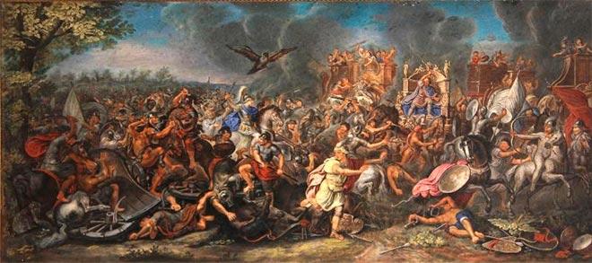 batalla gaugamela