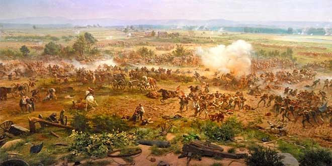 batalla gettysburg