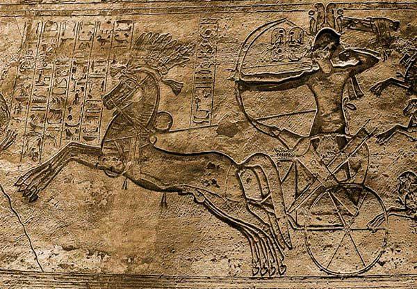 Arquero en la batalla de Kadesh