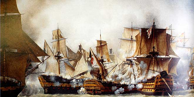 Photo of La batalla de Trafalgar