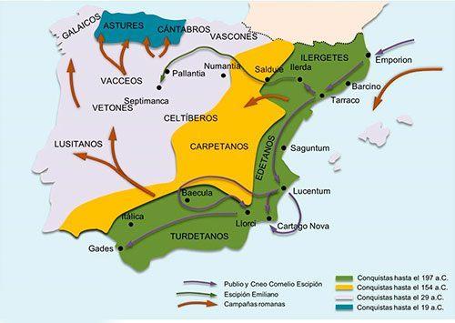 Campaña de Roma en Hispania