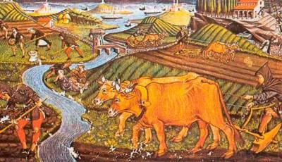 campesinos medievales