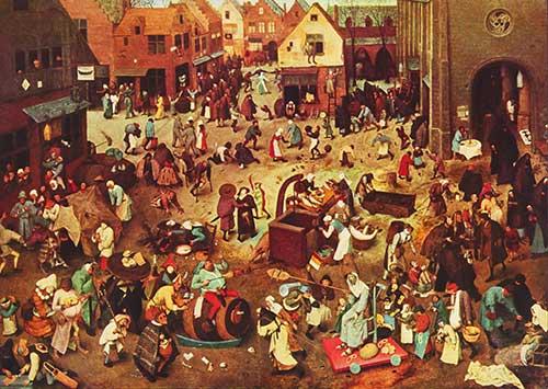 carnaval en la edad media