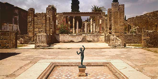 Casa de Fauno en Pompeya
