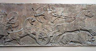 caza leon asiria