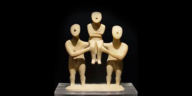 Cícladas, tres figuras
