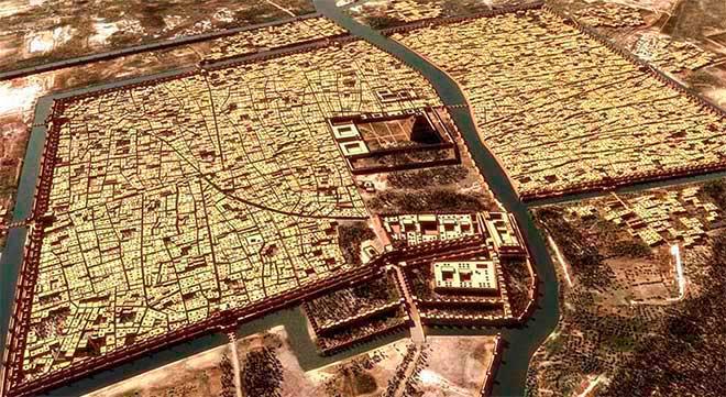 ciudad babilonia