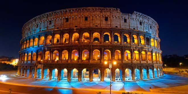 Coliseo Romano Imperio Romano
