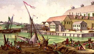 Comercio colonial en América