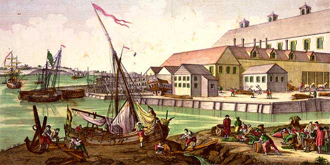 Comercio exterior en am rica colonial historia universal for Casa moderna ud