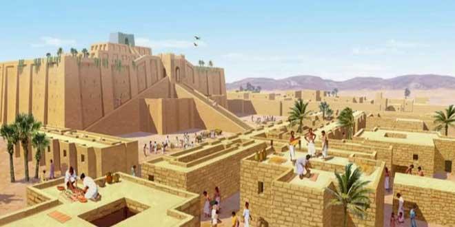 Construcción de la antigua Mesopotamia