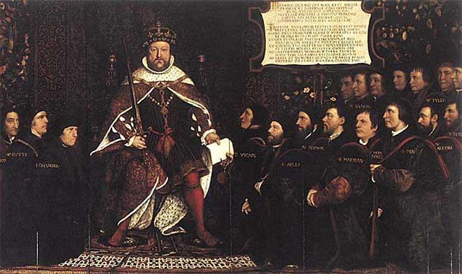 Coronación de Enrique VIII