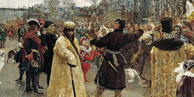 Coronación de Pedro el Grande