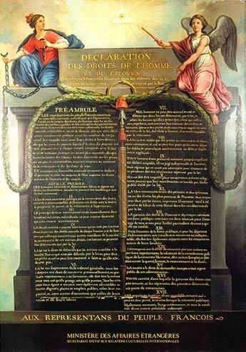 declaracion derechos hombre ciudadano