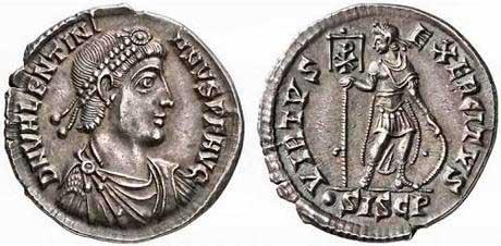 denario valentiniano