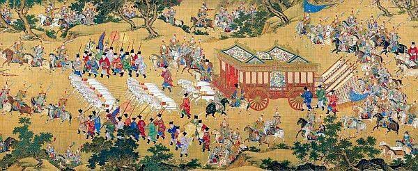 Grabado de la dinastia Shang
