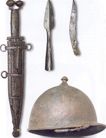 Edad de los metales armas celta