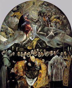 Entierro del Conde de Orgaz por el Greco