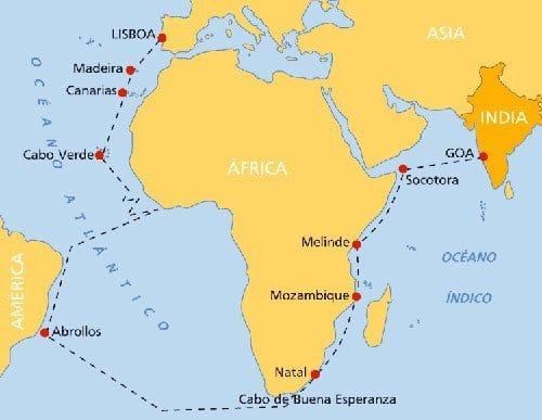 Descubrimientos de Enrique El Navegante