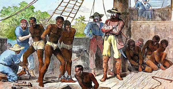 esclavitud america colonial