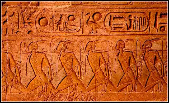 esclavos antiguo egipto