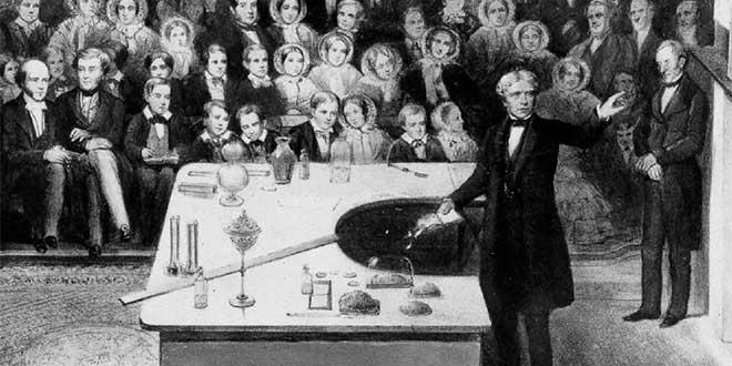 Exposición de Michael Faraday