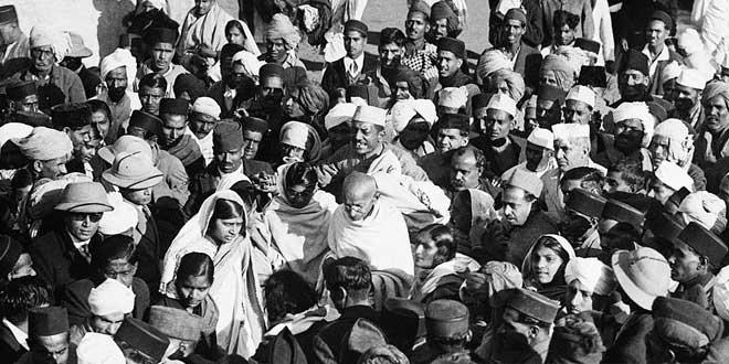 Gandhi: Independencia de la India