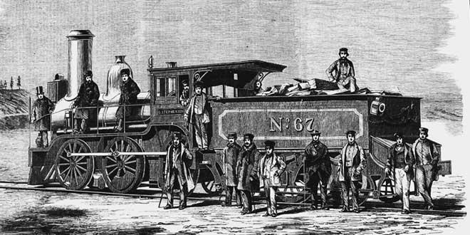 George Stephenson ferrocarril