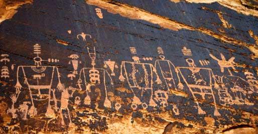 Gráficos de la Cultura Anasazi