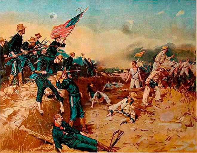 guerra espana estado unidos