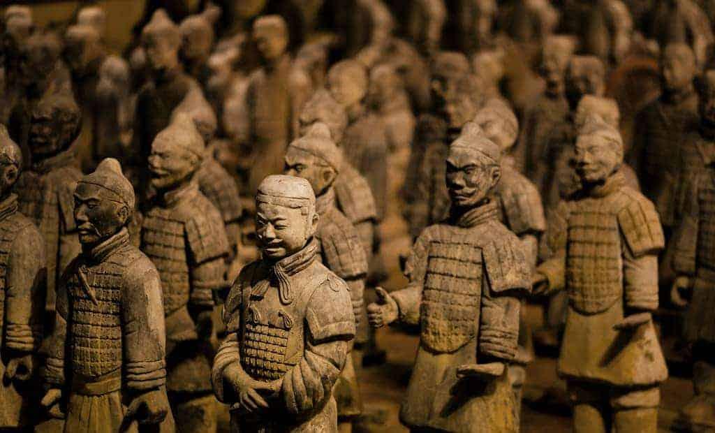 Guerreros de terracota de Qin Shi Huang