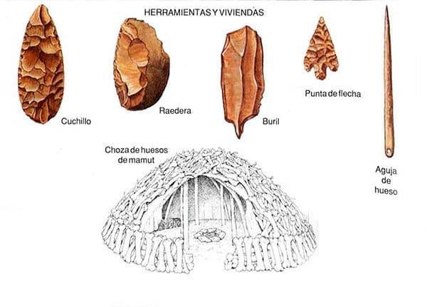herramientas vivienda prehistoria