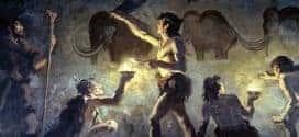 homo sapiens sapiens pintando