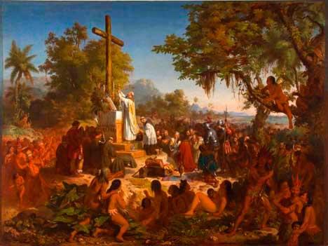 iglesia en la colonizacion brasil