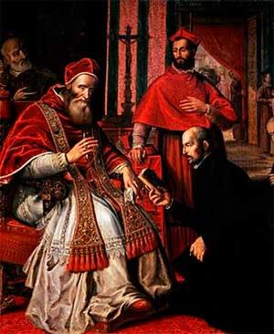 San Ignacio de Loyola crea la Compañía de Jesús